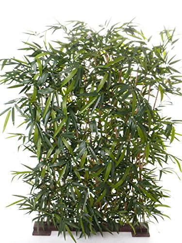 Siepe Di Bambu Prezzo.Artplants Set 2 X Separe In Siepe Di Bambu Artificiale Hiyori Verde
