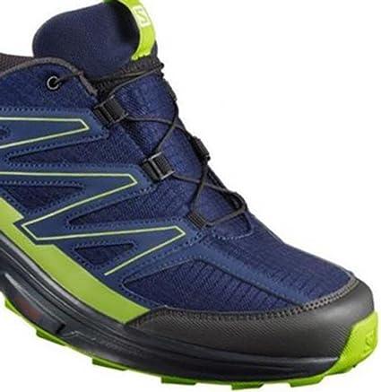 Salomon Wings Access 2, Chaussures de trail pour homme, Bleu