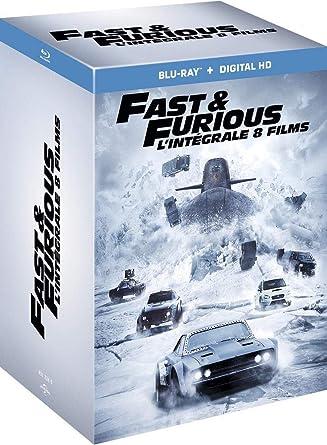 Fast and Furious - Lintégrale 8 films Italia Blu-ray: Amazon.es ...