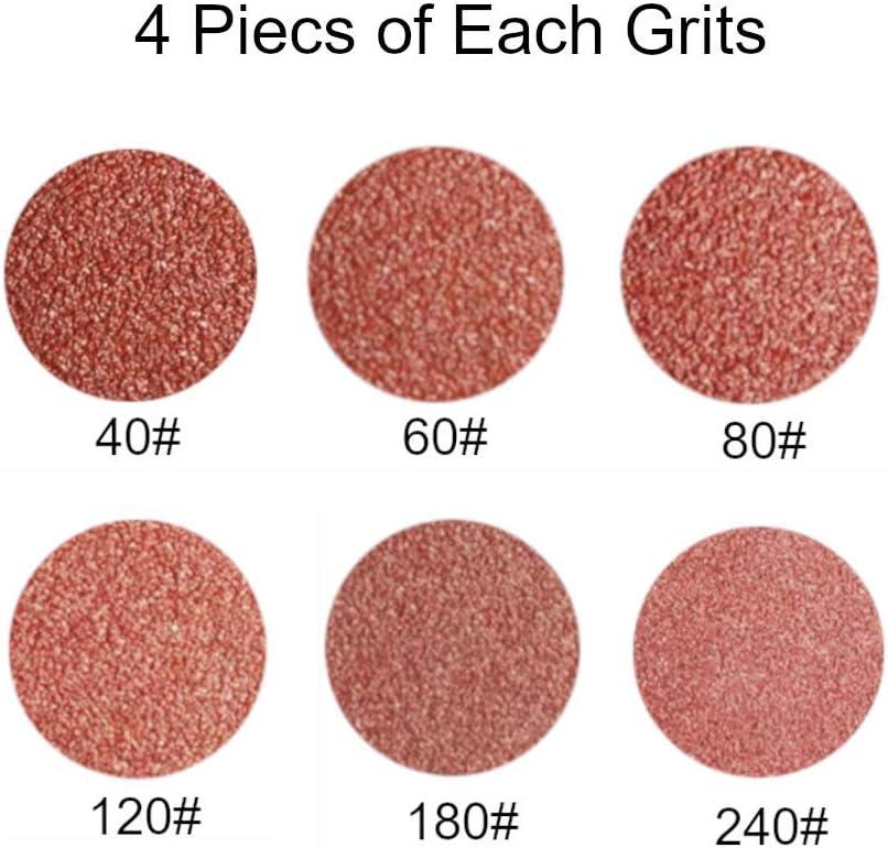 4 Each of 40//60//80//120//180//240 Grits Sanding Belt for Belt Sander 1//2-Inch x 18-Inch Sanding Belt 24 Pcs Aluminum Oxide Sander Belts
