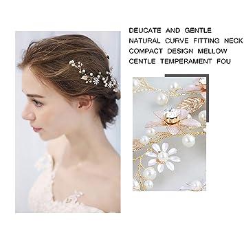 Amazon Com Bride Headdress Wedding Hairband Photo Studio