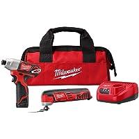 Milwaukee M12 12V Oscillating Multi-Tool & Impact Driver Combo Kit