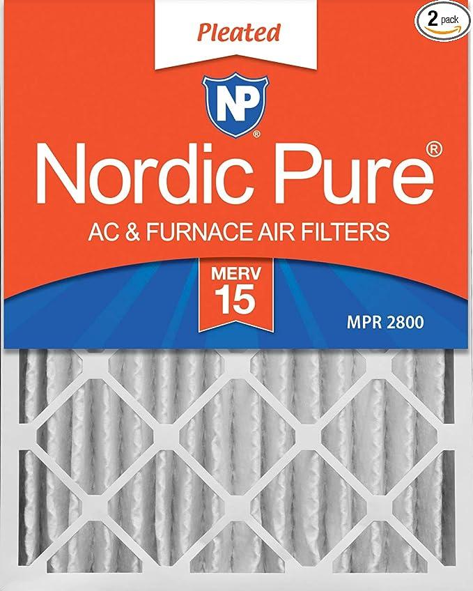 15 x 25 x 4 Air Filter Canopy 15x25x4 MERV  11 Box of 4
