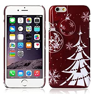 EVERMARKET(TM) Christmas Tree Snow Pattern Case for Apple iPhone 6 6G 4.7 Inch
