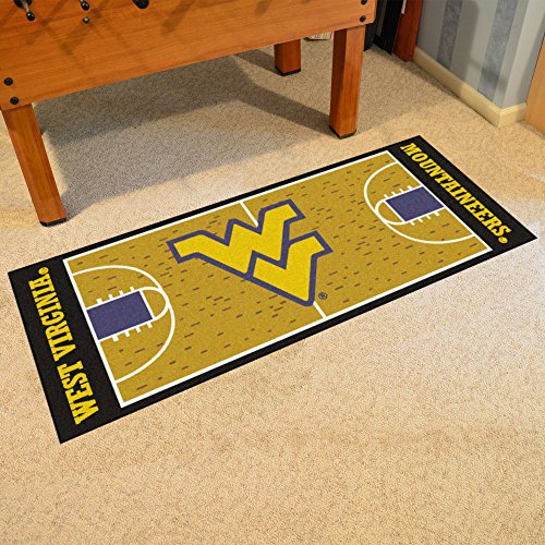 (Fan Mats 11124 WVU - West Virginia University Mountaineers 30