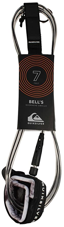Quiksilver Bells 7 - Correa para tabla de surf, color negro