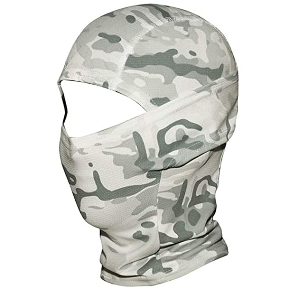 Face Mask Men Women Sun Protection Outdoor Tactical Training Camouflage Mask