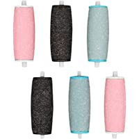 6 Pcs Extra Coarse Pedicure Rollers Replacement Rollers Heads Diamond Wet Dry Compatible for Velvet Smooth Pedi Perfect Electronic Foot File