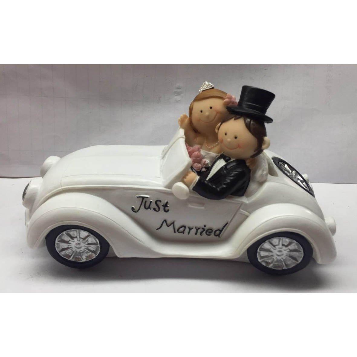 Brautpaar Auto,Spardose Geldgeschenk zur Hochzeit Super Geschenkidee Neu