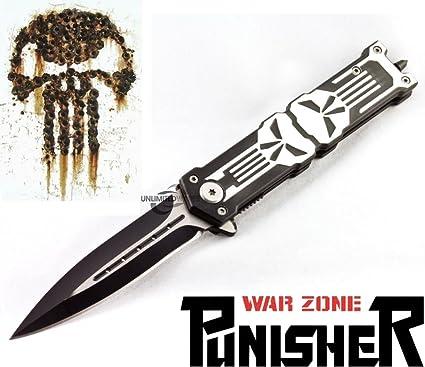 Amazon.com: Unlimited wares Punisher apertura asistida ...
