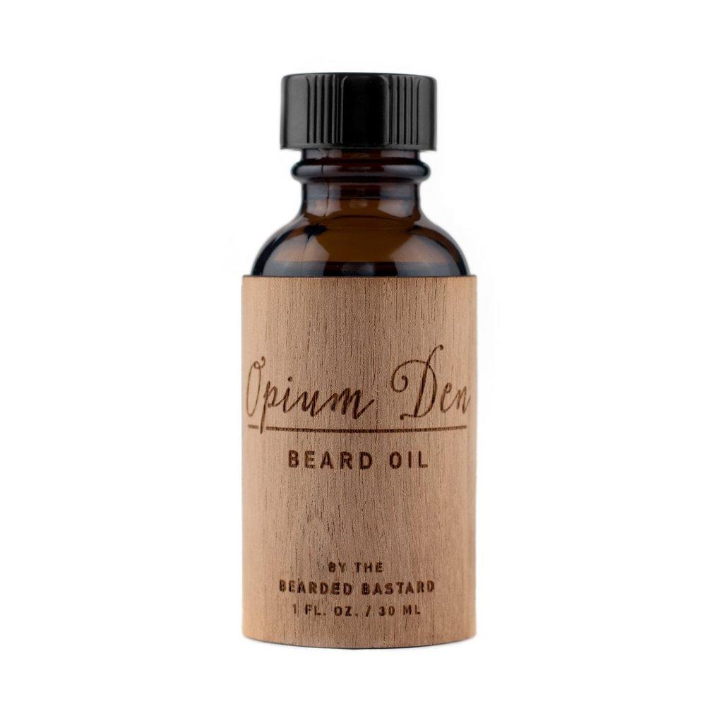 Opium Den Beard Oil by The Bearded Bastard — Natural Beard Oil (1 oz)