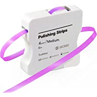 Tand schuurpapier, Dental polijststroken CE goedgekeurd, grootte middel - 50μm breedte - 4mm dikte - 6M / Rollen/Box…