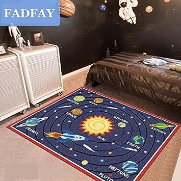 Schon FADFAY Heimtextilien, Designer Solar System Wohnzimmer Teppiche,  Einzigartige Sterne Kinder Schlafzimmer Teppich, Modernes