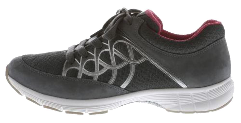 Señoras de la zapatilla de deporte del deporte Gabor 64.350.43 gris / hielo 8,5 UK/ 42.5 EU|antracita