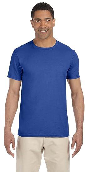 d821f386 By Gildan Gildan Adult Softstyle 45 Oz T-Shirt - Metro Blue - 2XL ...