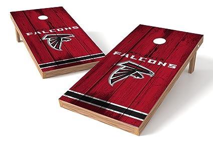 Amazon.com   PROLINE NFL Atlanta Falcons 2 x4  Cornhole Board Set ... ad5796099