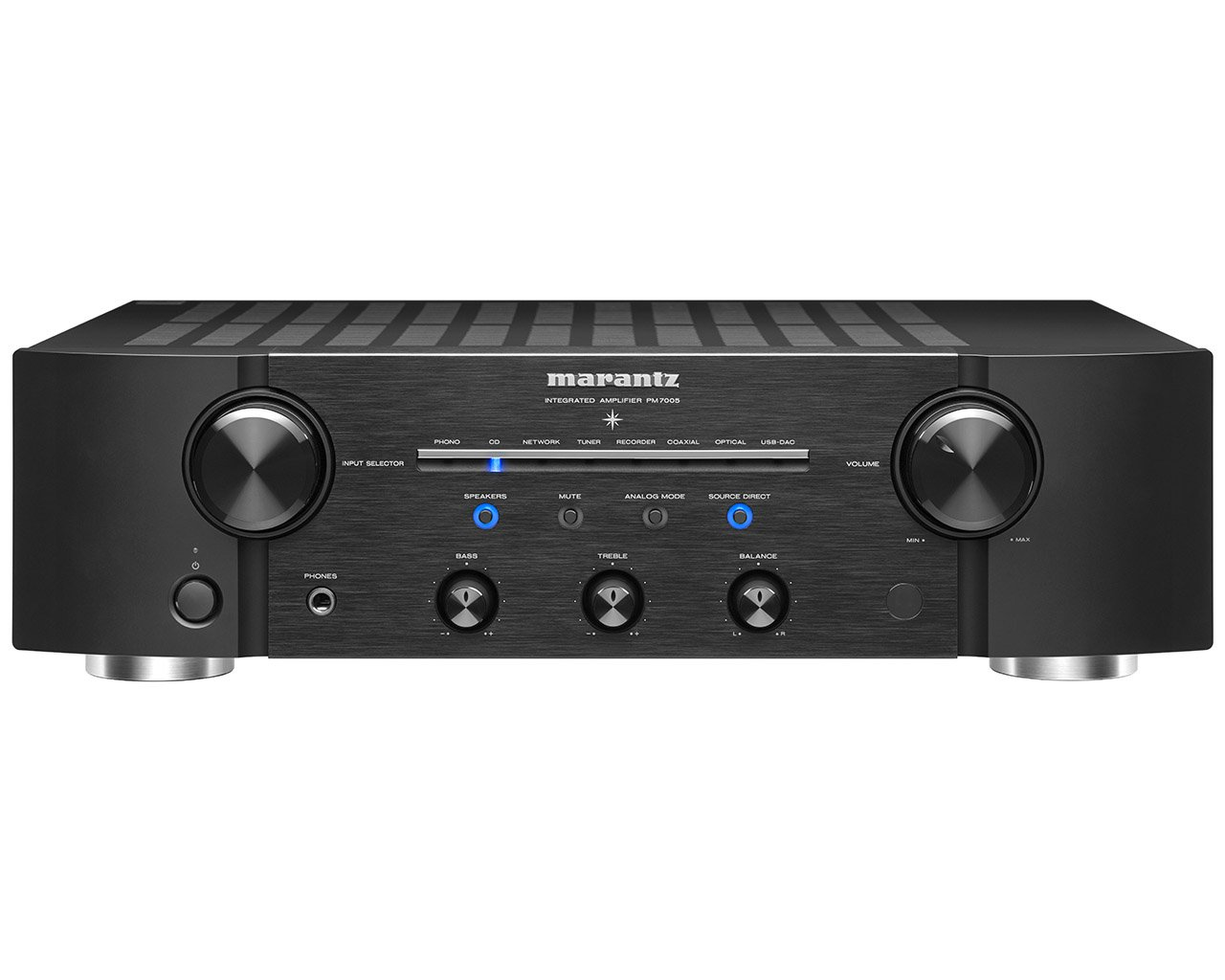Marantz PM7005 High Class Integrated Amplifier with Digital Inputs and Full Discrete Current Feedback Amplifier by Marantz