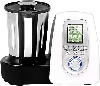 GRIDINLUX. Robot de cocina Multifunciones. 10 Velocidades, Jarra de Acero Inoxidable, 19 Programas, Seguridad MaxControl, Accesorios y Recetario, Cocina Chef Memory: Amazon.es: Hogar