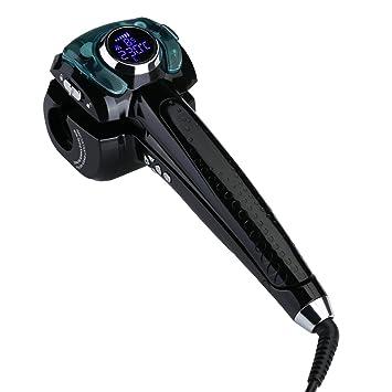 lismile Kit de hierro de rizador/Moldeador Moldeador de pelo de vapor profesional eléctrico Curl