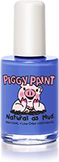 product image for Piggy Paint 100% Non-Toxic Girls Nail Polish - Safe, Natural Chemical Free Low Odor for Kids, Blueberry Patch, 0.5 Fluid Ounce