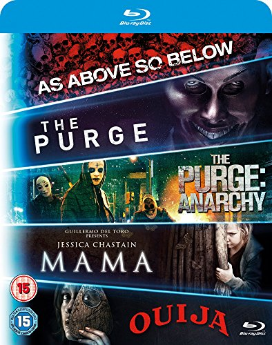 5 Movie Starter Pack (As Above So Below/The Purge/Anarchy/Mama/Ouija)