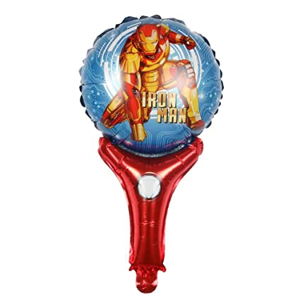 Iron Man Foil Balloon Helium Themed Birthday Party Decorations For Wedding Decoration Anniversary