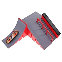 MagiDeal DIY Site Skate Park Ramp Finger Board Skateboard Site Ultimate Sports Part C
