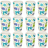 Tiny Dining Children's Bamboo Fibre Juice Cup - Dinosaur - Pack of 12