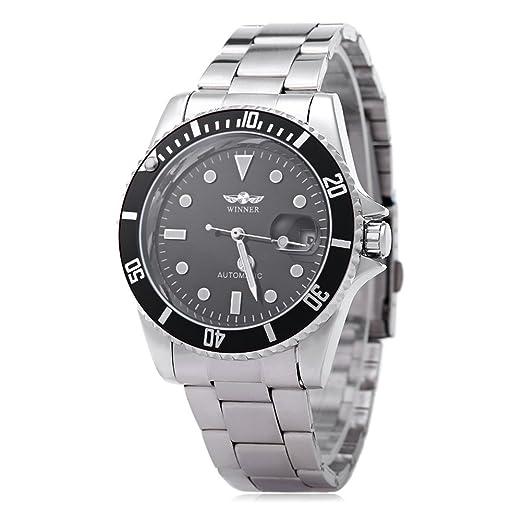 6 opinioni per Leopard Shop WINNER W042602 Orologio da polso da uomo, meccanico, automatico,