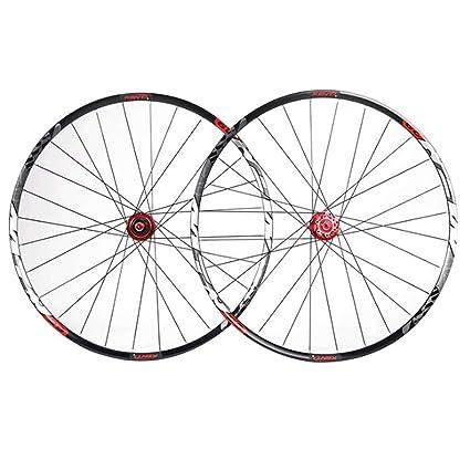 ZNND 29 Pulgadas Ruedas De Bicicleta, Agujeros con Doble Pared MTB Rim Ultra-Ligeras