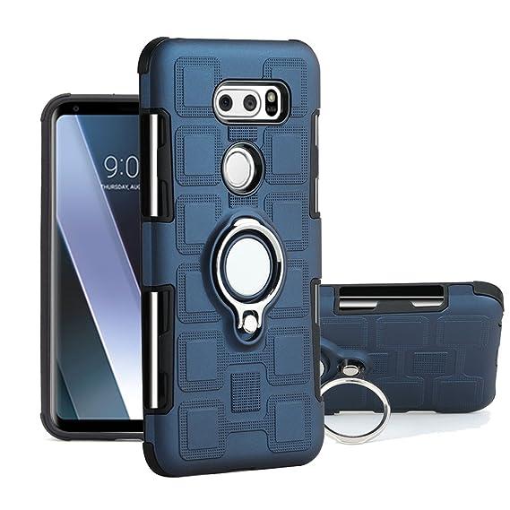 on sale effd3 f2146 Amazon.com: LG V30 Case, Vfunn [Ice Cube] Hybrid Ring Style ...