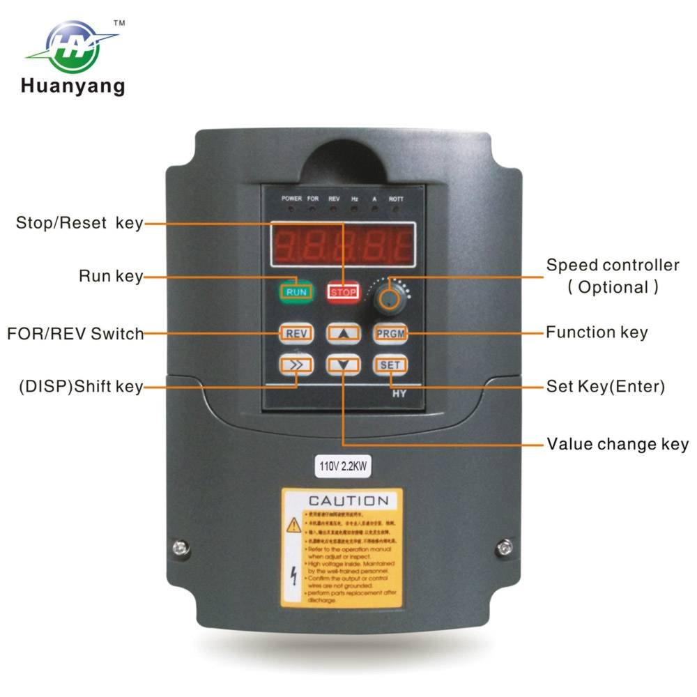 Pleasant Amazon Com Vfd 110V 2 2Kw 3Hp Variable Frequency Cnc Motor Drive Wiring Digital Resources Funapmognl