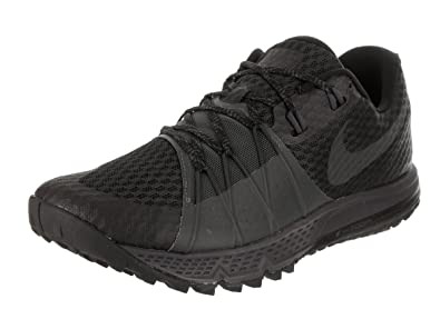 1de4d7a492 Nike Men's Air Zoom Wildhorse 4 Running Shoe Black/Anthracite-Anthracite 8.0