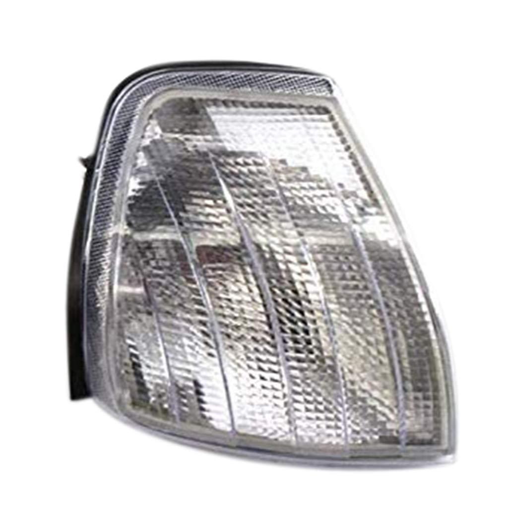 Beaums C/ôt/é Droit Clair Indicateur Objectif Tourner Lampe Signal de Remplacement Couverture pour Mercedes Benz W202 1994-2000 2028261243