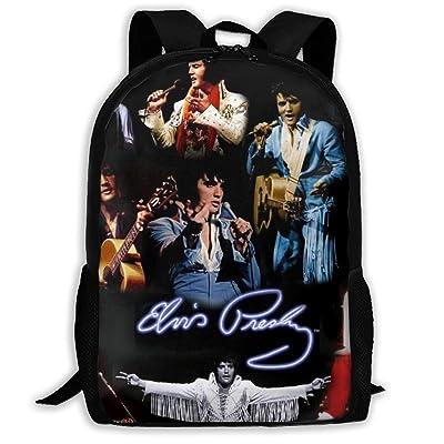 El-vis Pre-sley Cool Backpack Outdoor Travel Rucksack Casual Daypack School Bag College Backpack | Kids' Backpacks
