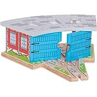 Bigjigs Rail Cobertizo para Tres locomotoras