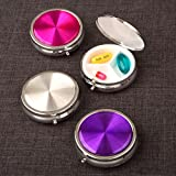 84 Hologram Style Pill Boxes in Fabulous Trendy Colors