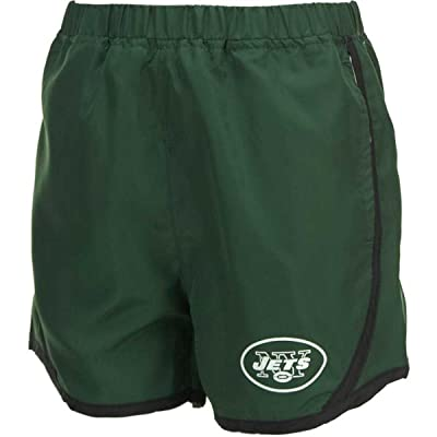 New York Jets Youth Girls Green Charger Shorts
