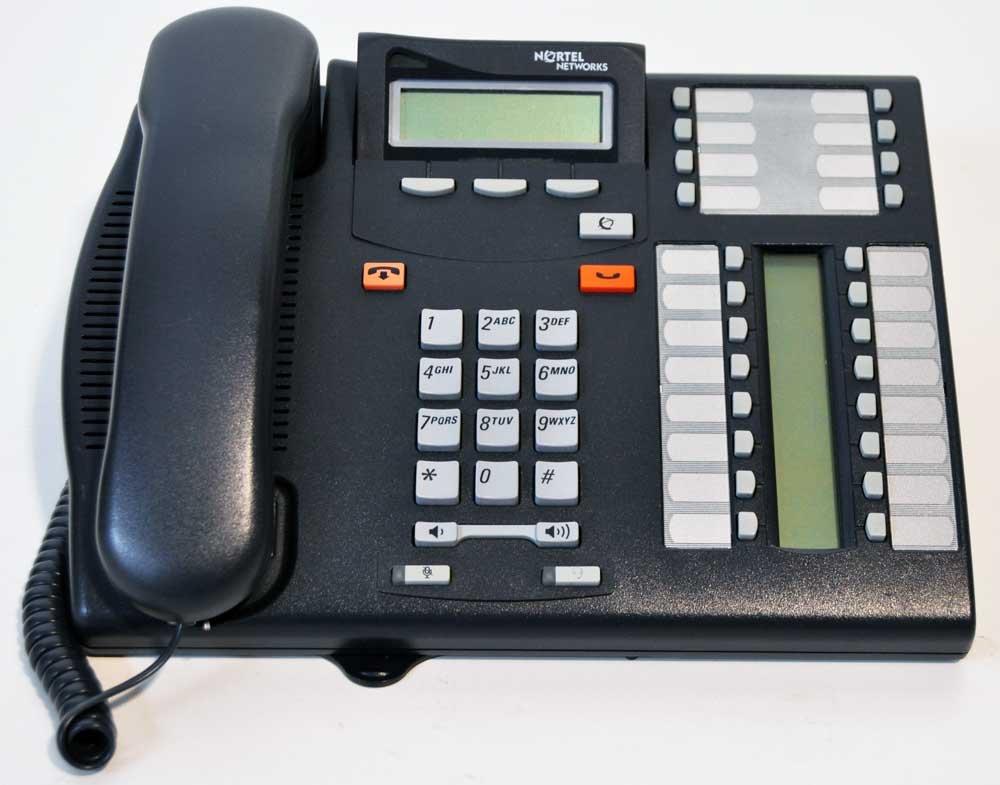 Nortel T7316 Telephone Charcoal