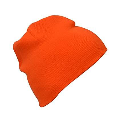 e17e351e2dd Image Unavailable. Image not available for. Color  KC Caps Unisex Safety  Watch Knit Beanie Hat Winter ...