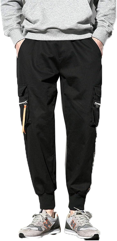 Evan Fordd men pant Mens Pencil Harem Pants Hip Hop Mens Jogger Trousers Male Black Cargo Pants Sweatpants