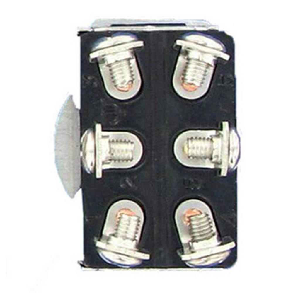 Mintice/™ 3 X KFZ Auto 20A 125V 15A 250V Kippschalter Schalter Wippschalter SPST 2-Polig EIN//AUS Metall Mit wasserdicht Schutzkappe