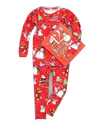 Amazon.com  Books to Bed Boys 12 Days of Christmas Pajamas  Clothing 7b4118269