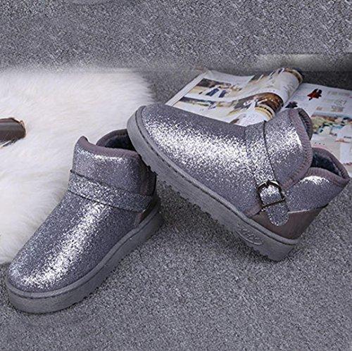 Botas Colores Muchos Botas la gris Mujer Nieve Vovotrade® para 0YnUqZTZX