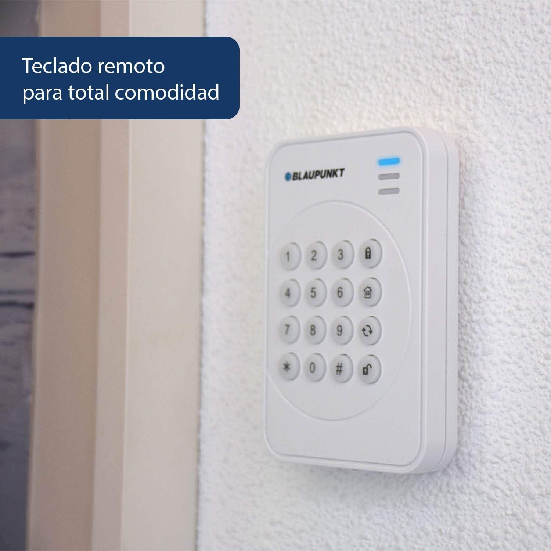 Blaupunkt Q-Pro 6600 Sistema de Alarma IP sin cuotas,inalámbrica, control remoto y respaldo GSM