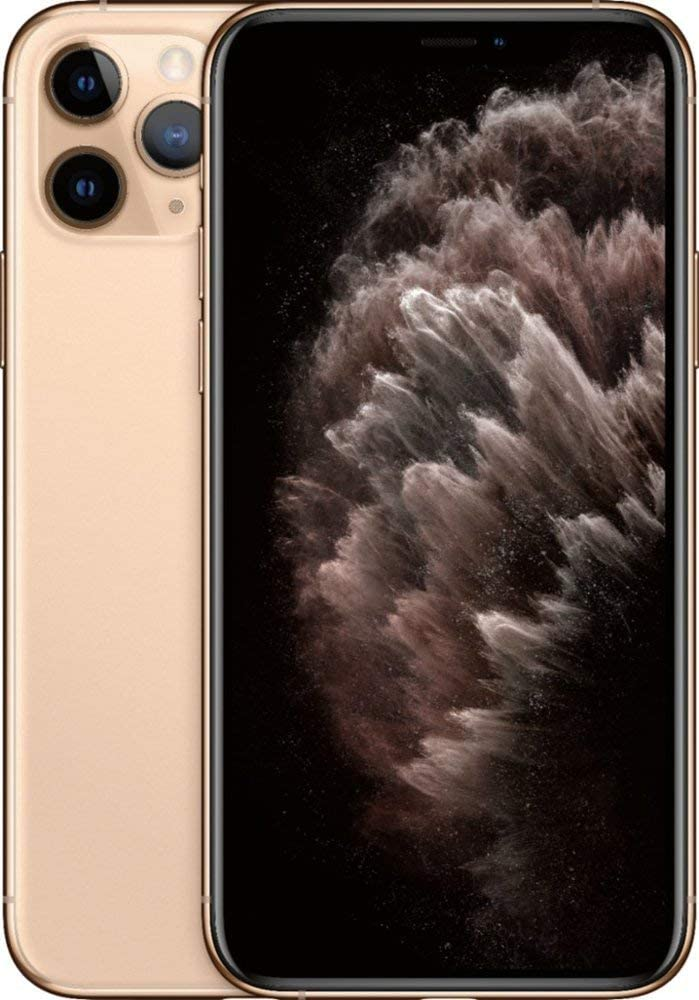 Apple iPhone 11 Pro, 256GB, Gold – For AT&T (Renewed)