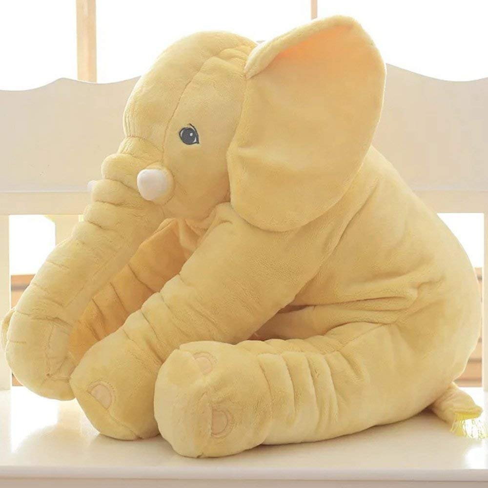 yaode Stuffed Elephant Plush Toy Large Size Animal Plush Doll Toy (Purple, L)