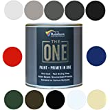 The One Paint Gloss 250ml - Multi Surface Paint - No Undercoat or Primers Required (White)