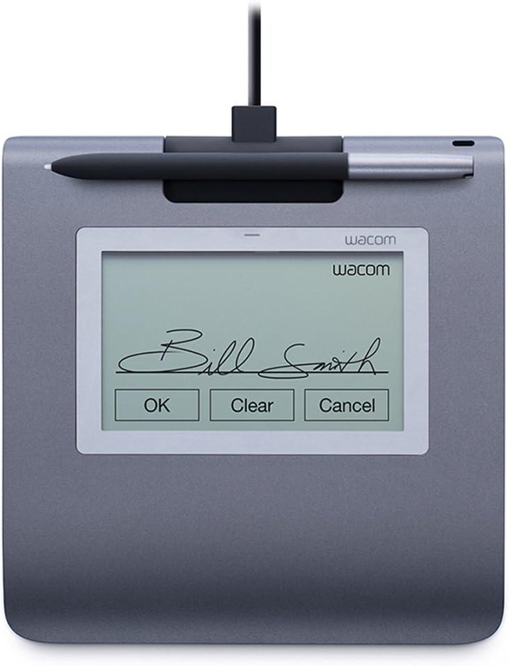 Wacom STU-430-SP SET Signature - Tableta de firma con pluma y software Sign Pro PDF