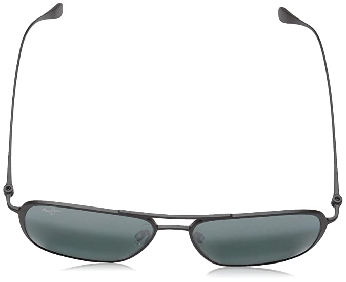 667540277f89 Maui Jim Sunglasses | Beaches 541-2M | Matte Black Aviator Frame, Polarized Neutral  Grey Lenses, with Patented PolarizedPlus2 Lens Technology: Amazon.ca: ...